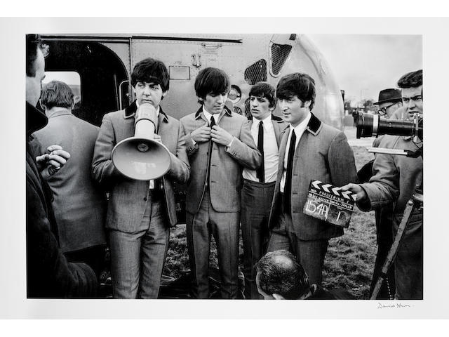David Hurn (British, b.1934): The Beatles on the set of 'A Hard Days Night', 1964,