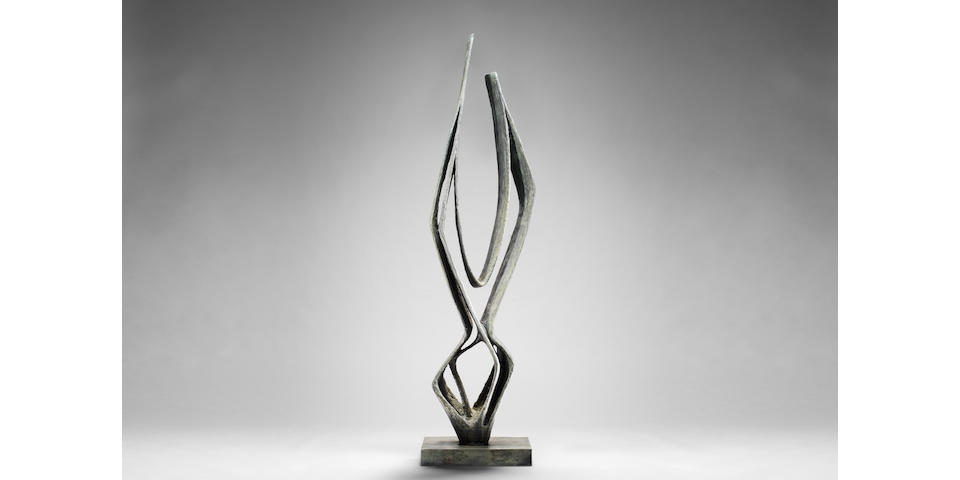 Dame Barbara Hepworth (British, 1903-1975) Cantate Domino 209.8 cm. (81 1/2 in.) high (including the base)