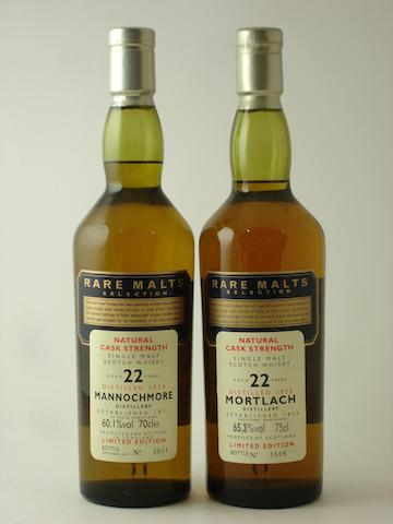 Mannochmore-22 year old-1974Mortlach-22 year old-1972