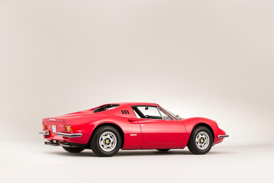Ferrari Classiche certified,1973 Ferrari Dino 246GTS  Chassis no. 06176 Engine no. 10898