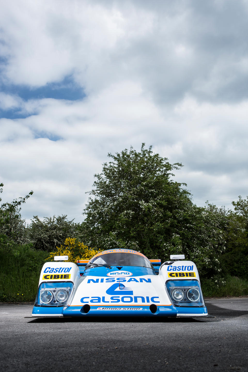 The ex-Works, Hoshino/Wada/A Suzuki, Le Mans 24 Hours,1987 Nissan R87E Group C Sports Prototype  Chassis no. 87G-3 Engine no. VE45