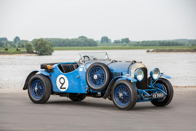 The ex-Lewis 'Mac' McKenzie,1929 Bentley 4½-Litre Sports 'Bluebell'  Chassis no. RL3439 Engine no. NT3127