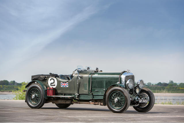 The Ex-Guy Shoosmith,1930 Bentley Speed Six Tourer  Chassis no. HM2865 (see text) Engine no. HM2867