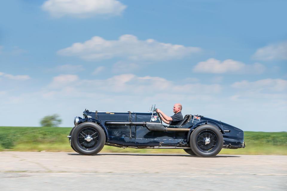 The ex Le Mans and RAC Tourist Trophy, M.F.L. Falkner/TommyClarke – ex Mille Miglia, E.R. Hall/Marsden – ex Targa Abruzzo, Count 'Johnny' Lurani/GildoStrazza – ex Derrick Edwards Morntane Engineering,1935 Aston Martin Ulster Competition Sports  Chassis no. B5/549/U Engine no. B5/549/U (see text)