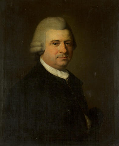 English School, 18th Century Portrait of Gentleman, possibly Benjamin Gooch, founder of the Norfolk and Norwich Hospital