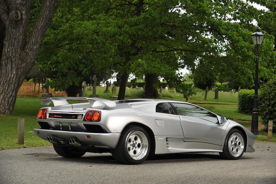 1993 Lamborghini Diablo VT Coupé  Chassis no. ZAQDE07A0PLA12890