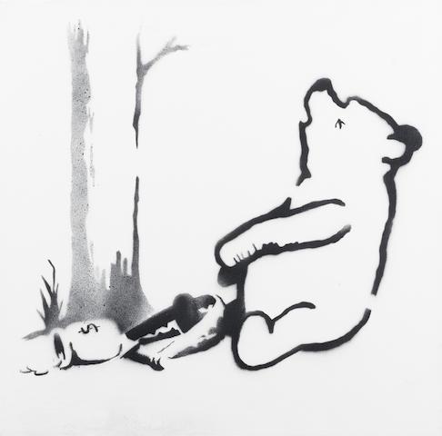 Banksy (b. 1975) Winnie The Pooh 2013