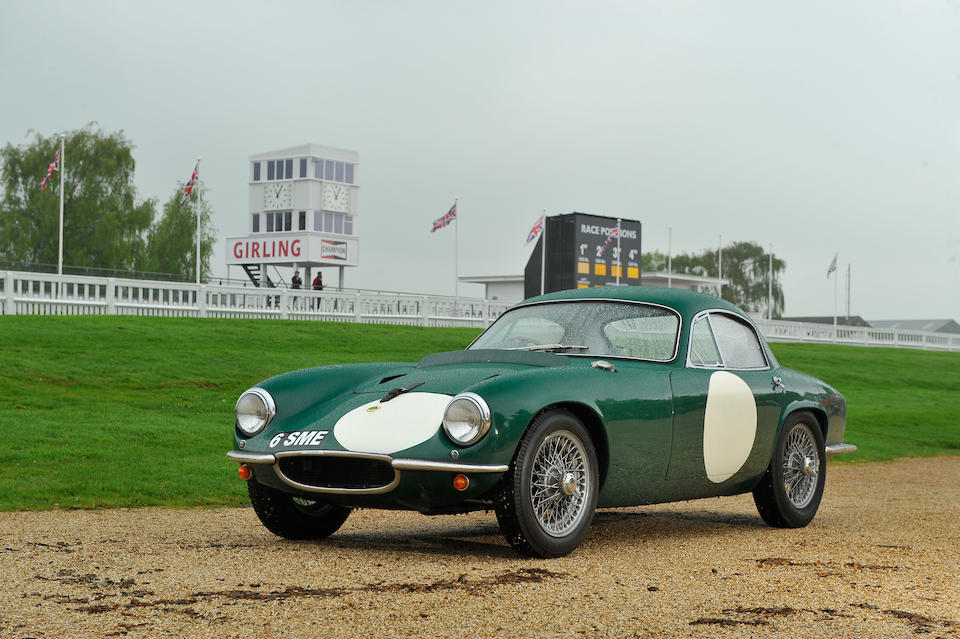 The ex-works 1960 Le Mans 24-Hour race 2-litre,1960 Lotus LX Grand Touring Two-Seater  Chassis no. 1255