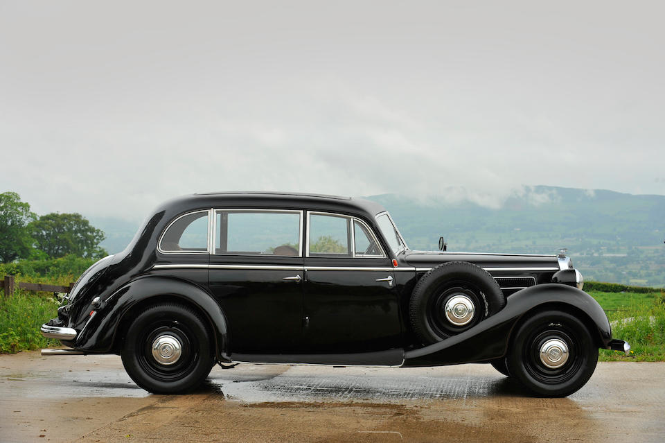 31,000 kilometres from new,1938 Horch 930V Sports Saloon  Chassis no. 930630