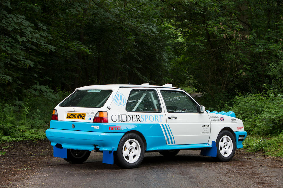 Ex-Volkswagen UK, Mark Lovell,1990 Volkswagen Golf G60 Rallye Group A  Chassis no. WVWZZZ1GZLB010567
