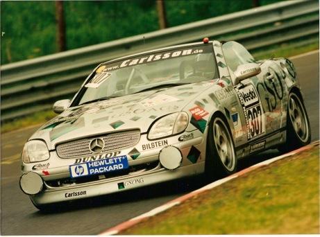 The ex-Lohr/Kleinschmidt/Hürtgen/Duez, Nürburgring 24 Hours class-winning,1997 Mercedes-Benz SLK 200 Competition Roadster Chassis no. WDB170.435-1F-002093