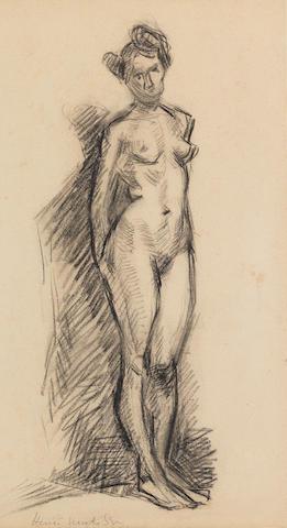 Henri Matisse (1869-1954) Nu debout