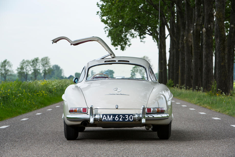 1955 Mercedes-Benz 300SL 'Gullwing' Coupé Chassis no. 198.040-5500852 Engine no. 198.980-5500840