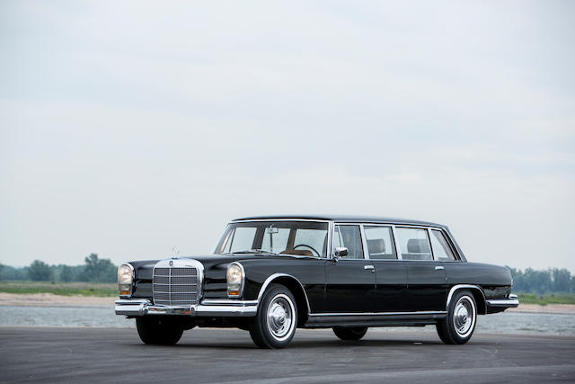 The ex-Chen Yi,1965 Mercedes-Benz 600 Pullman Limousine Chassis no. 100.014-12-000165 Engine no. 100.980-12-000159