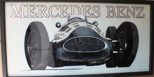 Tony Upson, 'Mercedes-Benz W154',