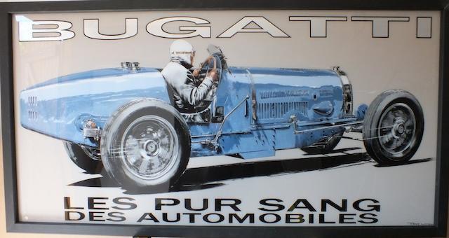 Tony Upson, 'Type 54 Bugatti',