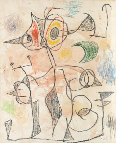 Joan Miró (1893-1983) Maternité