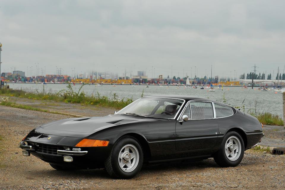 One owner, 84,299 kilometres from new,1973 Ferrari 365GTB/4 'Daytona' Berlinetta  Chassis no. 17607  Engine no. 2088