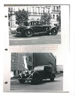 The Ex-Volkswagenwerke Cabriolet B – Ex-Reich-Chancellery Berlin Motor Pool,1938/1943  Mercedes-Benz 540K Spezial Aktion Panzer-Limousinen VIP Armoured Saloon  Chassis no. 408377 Engine no. 102401.84.105351 (see text)