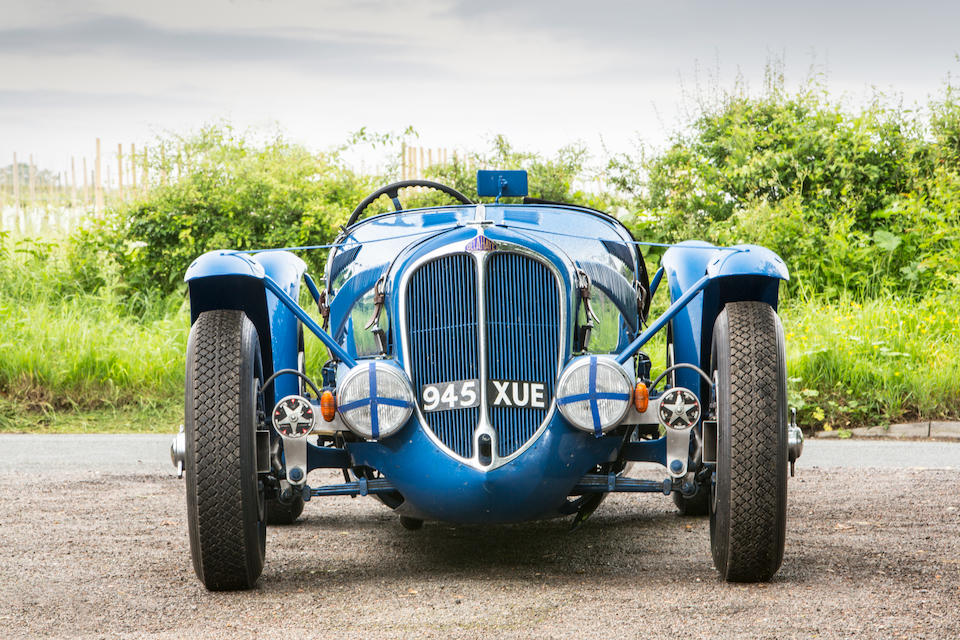 From the estate of the late Graham Galliers,1936 Delahaye 3.6-Litre Type 135S Replica Sports  Chassis no. 47191 (see text) Engine no. 47191 (see text)
