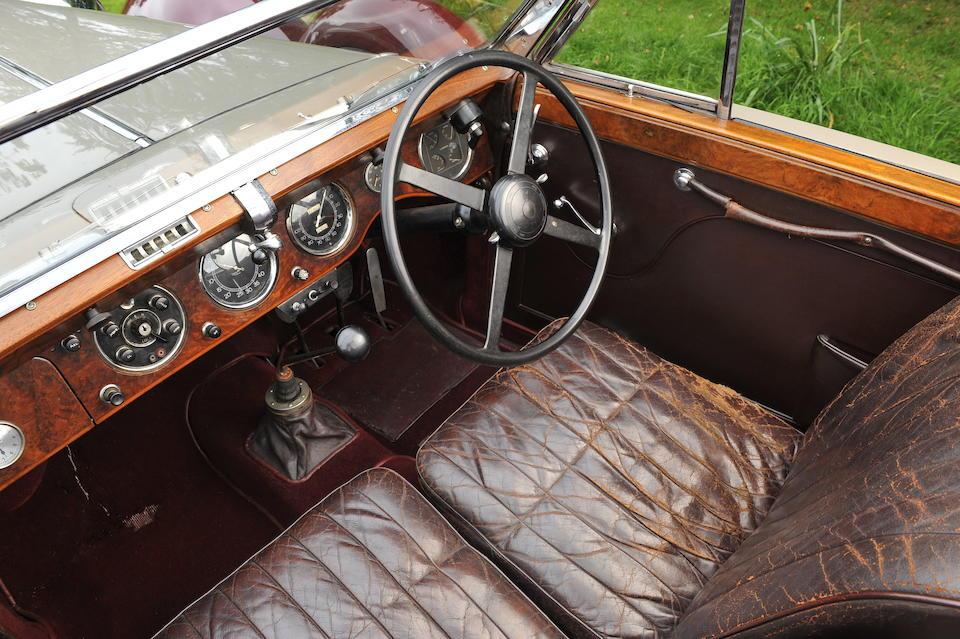 1939 Lagonda V12 Drophead Coupé  Chassis no. 14059 Engine no. 7541