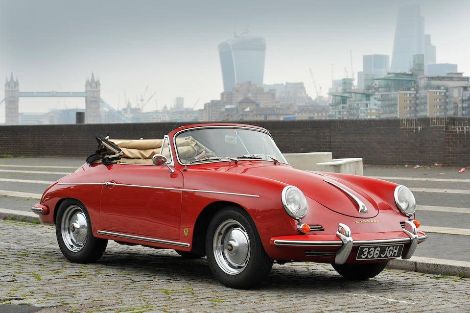 Formerly the property of The Rt Hon Alan Clark, MP,1960 Porsche 356B Super 75 T5 Cabriolet  Chassis no. 153664 Engine no. 716702