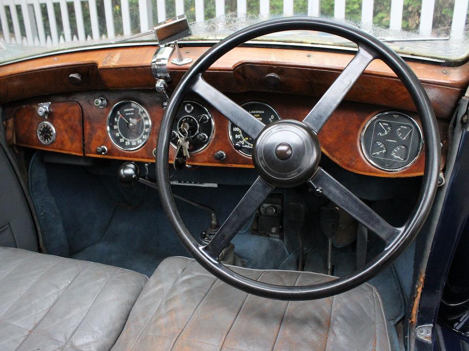 The ex-Dick Watney, Lagonda Motors,1939 Lagonda V12 Saloon  Chassis no. 14105 Engine no. 48