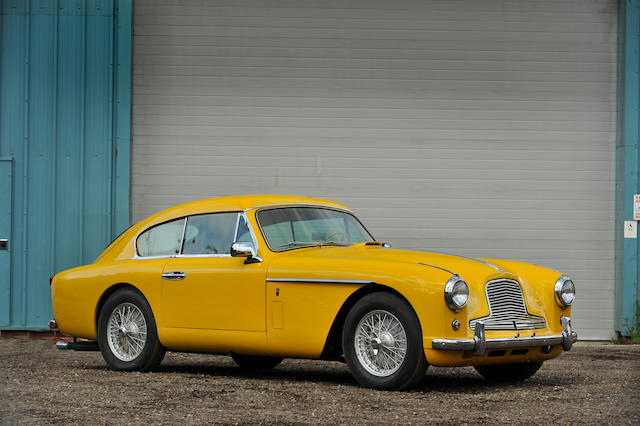 Formerly the property of Richard Attwood,1957 Aston Martin DB2/4 MkII Saloon  Chassis no. AM300/1211 Engine no. VB6J/834/L1