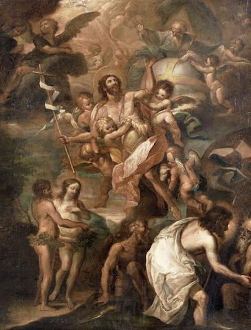 Italian School, 18th Century The Apotheosis of Saint John the Bapstist