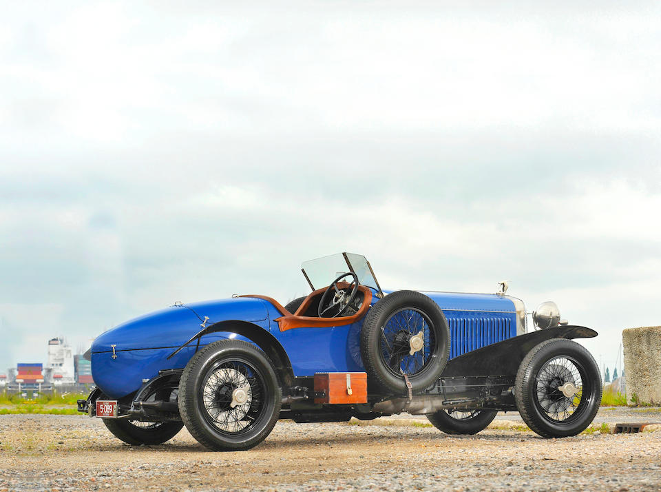 The ex-Captain J E P Howey,1924 Hispano-Suiza H6C 8.0-Litre Short Chassis Sports  Chassis no. 11024 Engine no. 320098