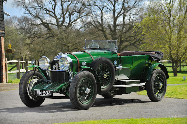 Same ownership for 54 years and taken from the Michael Banfield Collection,1927  Bentley  3/4½-litre Open Tourer  Chassis no. LM1341 Engine no. XF3502