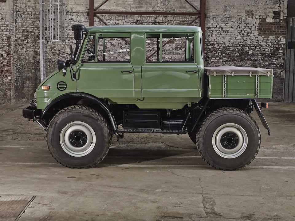 1976 Mercedes-Benz Unimog 406 Doppelkabine 4x4 Utility Chassis no. 406.145-10-027969