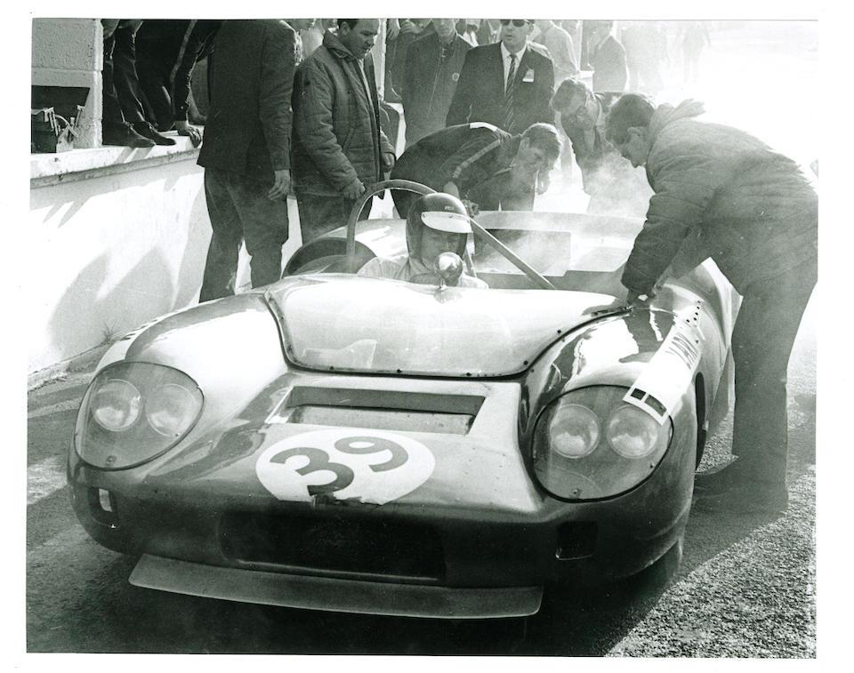 The Ex-Jim Clark 1966 Guards Trophy race, Peter Westbury, Mac Daghorn,1966 Felday-BRM 4 Group 7 Sports-Racing Prototype