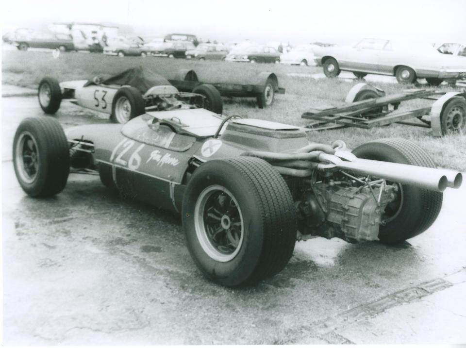 The Ex-Jack Pearce, John Hine, Robin Darlington, Jim Moore,1965 Kincraft-Ford Formule Libre Racing Single-Seater  Chassis no. FL-012-1 Engine no. X36