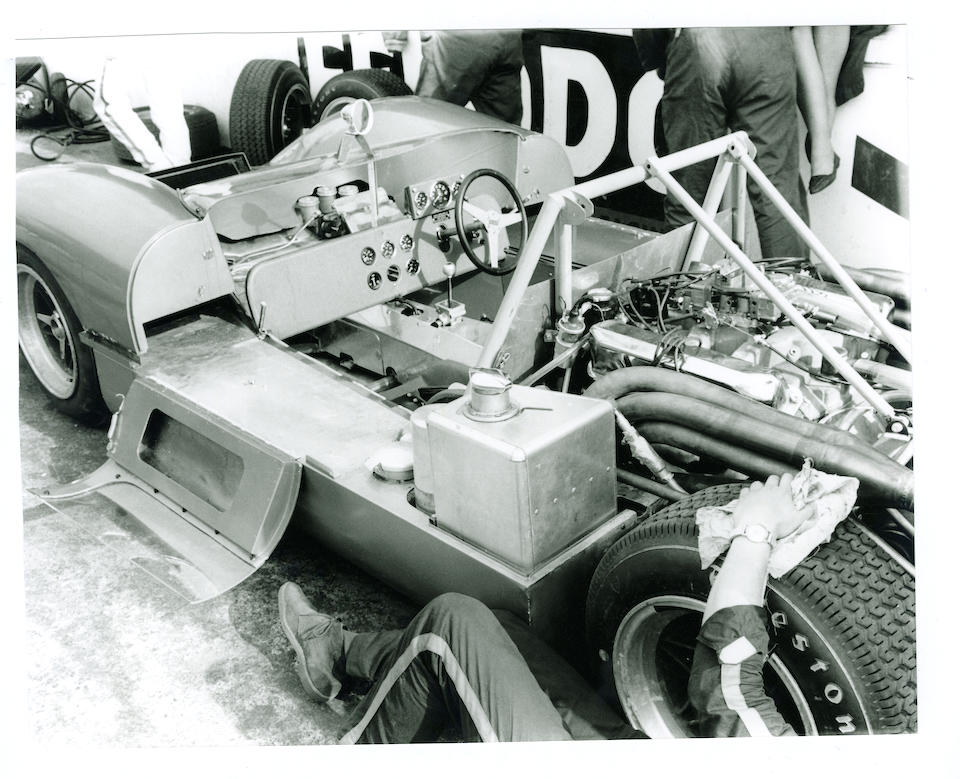The Ex-Mac Daghorn, Brands Hatch Guards Trophy race,1966 Felday 5 Group 7 Sports-Racing Prototype