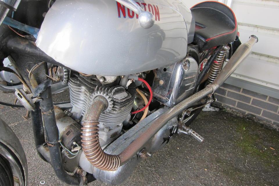 1960 Norton 498cc ES2/Model 77 Café Racer Frame no. R4 88608 Engine no. 15M 75113