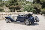 Two owners from new,1936 Mercedes-Benz 540 K Cabriolet A Chassis no. 130946 Engine no. 130946