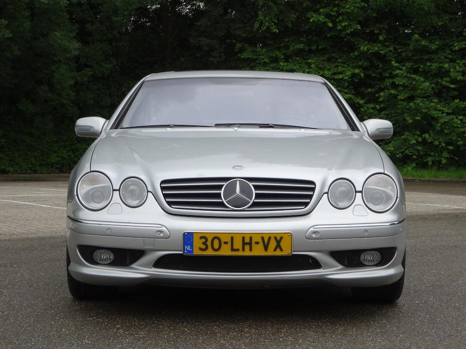 One of only 26 examples with the AMG V12 engine,2003 Mercedes-Benz CL63 AMG Chassis no. WDB215.378-1A-026599 Engine no. 137.980-40-018874
