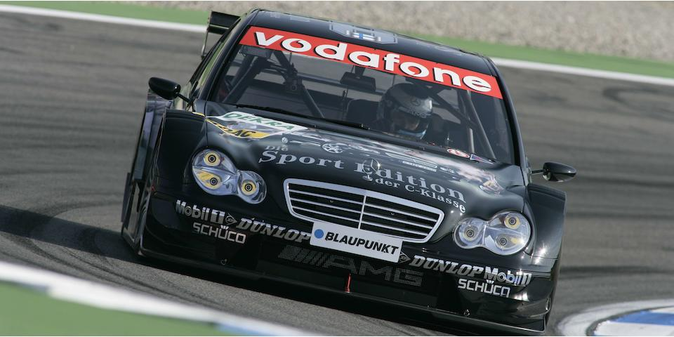 Offered direct from Mercedes-Benz Motorsport Department The Ex-Mika Hakkinen ,2005 AMG-Mercedes- C-Class DTM Touring Car Racing Saloon Chassis no. RS 05-012