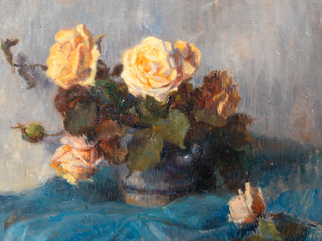 Paul Gauguin (French, 1848-1903) Bouquet de roses