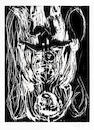Georg Baselitz (German, born 1938) Weisse Mutter, Schwarzes Kind Woodcut printed in black, 1985, on wove, signed, dated and numbered 4/20 in pencil, with full margins, 650 x 490mm (25 1/2 x 19 1/4in) (SH)