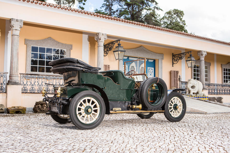 Offered from the Ivone Peitz Collection,1911 Benz 45/60hp Toy Tonneau with Victoria Hood Chassis no. 5944 Engine no. 5833