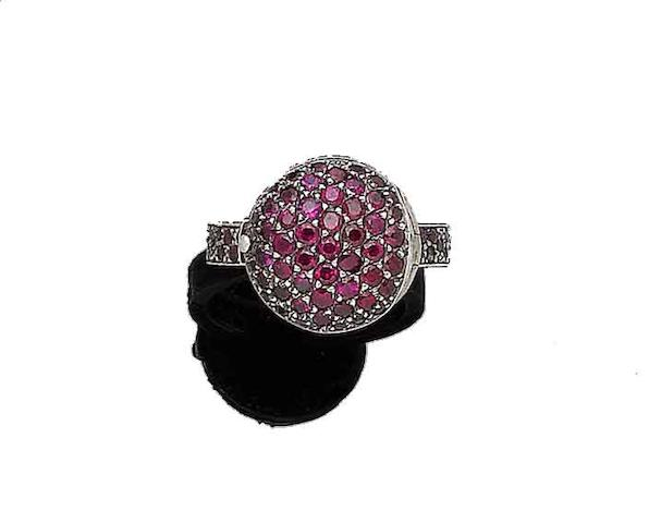 A ruby 'Smartie Poison' ring, by Solange Azagury-Partridge,