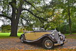 1938 Mercedes-Benz 320 Cabriolet A Chassis no. 407846