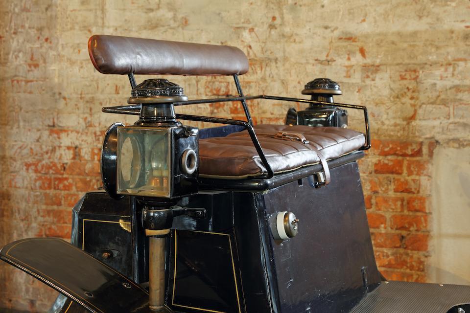 "1901 Benz Ideal 7hp Twin Cylinder ""Contra-Motor"" Vis-à-vis Engine no. 2843"