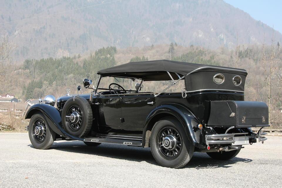 1934 Mercedes-Benz 500 Nürburg Offener Tourenwagen Chassis no. 104951 Engine no. 104951