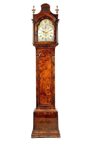 A good mid 18th century walnut longcase clock Paul Ferment, London