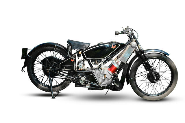 c.1929 Scott 498cc Sports Squirrel Frame no. 2963 Engine no. 6845R