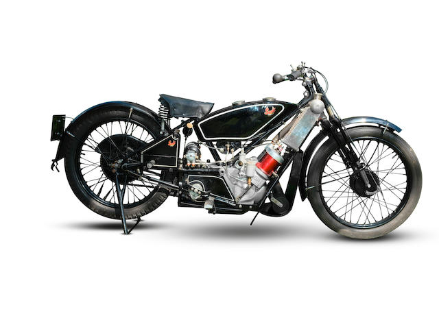 C.1929 Scott 498cc Sports Squirrel