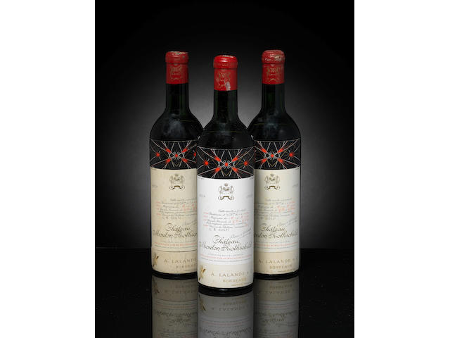 Chateau Mouton Rothschild 1959 (3)